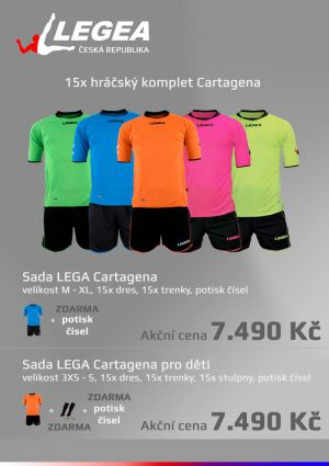 Komplet LEGEA Cartagena - SADA