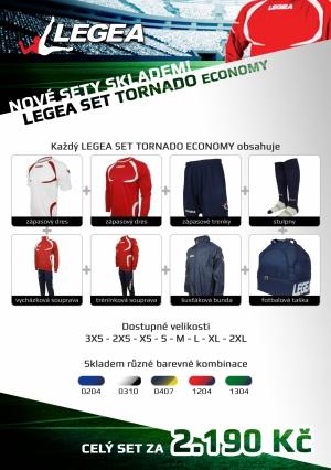 LEGEA set Tornado Economy
