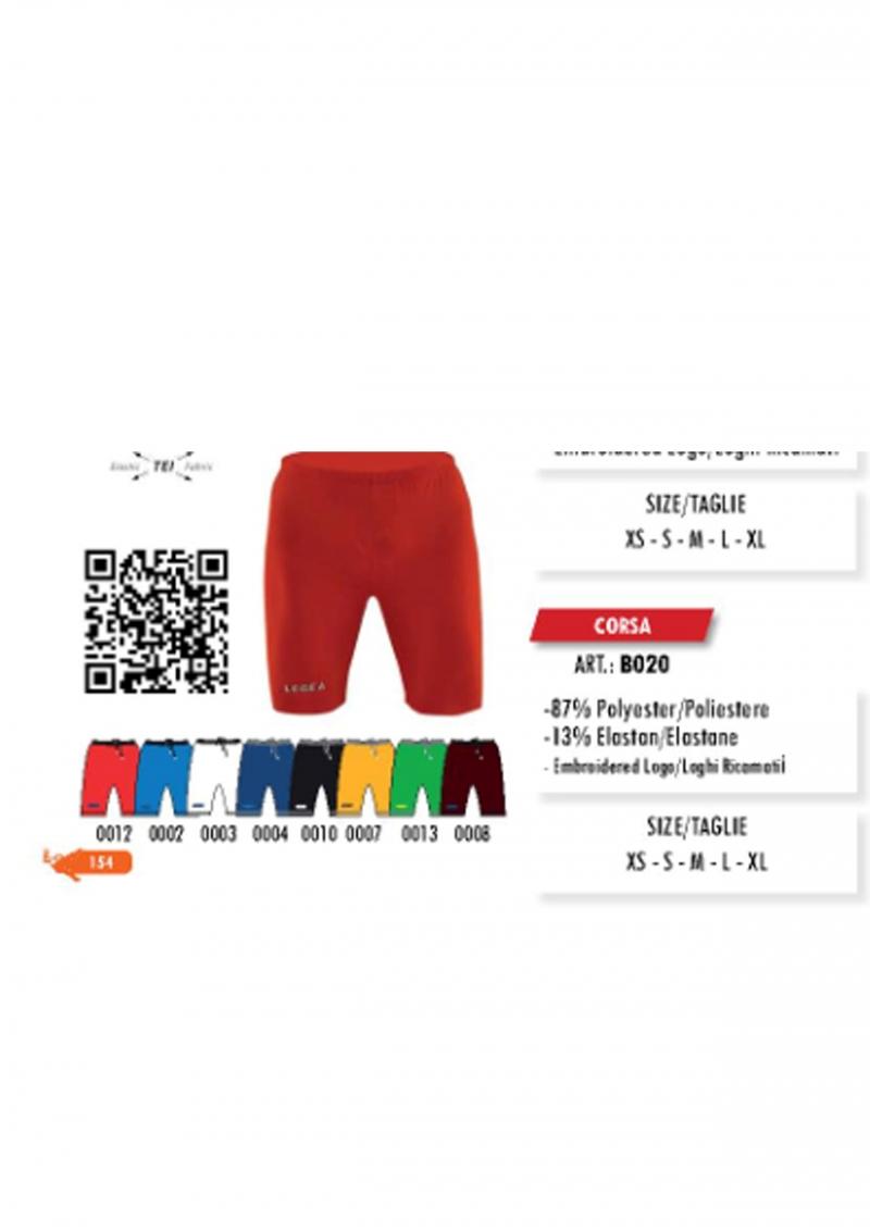 LEGEA elastické šortky Corsa - BORA prosport - sportovní oblečení a ... b1d32fa267