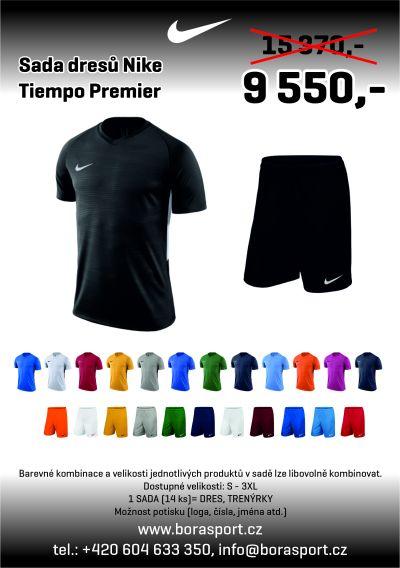 Nike Tiempo Premier - AKČNÍ SADA DRESŮ