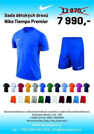 Nike Tiempo Premier - AKČNÍ SADA DĚTSKÝCH DRESŮ