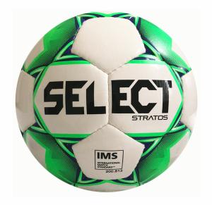 Fotbalový míč Select FB Stratos bílo zelená - AKCE 10 ks