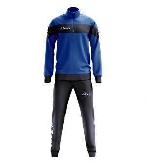 ZEUS Marte tréninková souprava modrá/tm.modrá