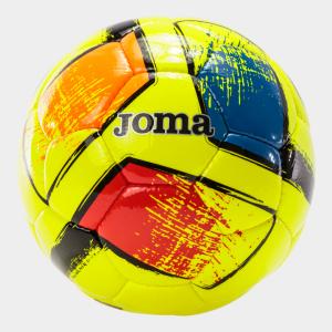Fotbalový míč JOMA Dali II sada 12 ks refl. žlutá