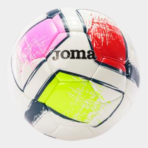 Fotbalový míč JOMA Dali II sada 12 ks - žlutá/červená/růžová