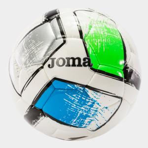 Fotbalový míč JOMA Dali II sada 12 ks - zelená/modrá/stříbrná