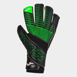 Brankářské rukavice JOMA Area 19 černá-refl. zelená